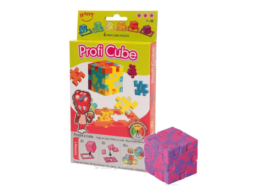 Happy Cube Profi Cube (6er)