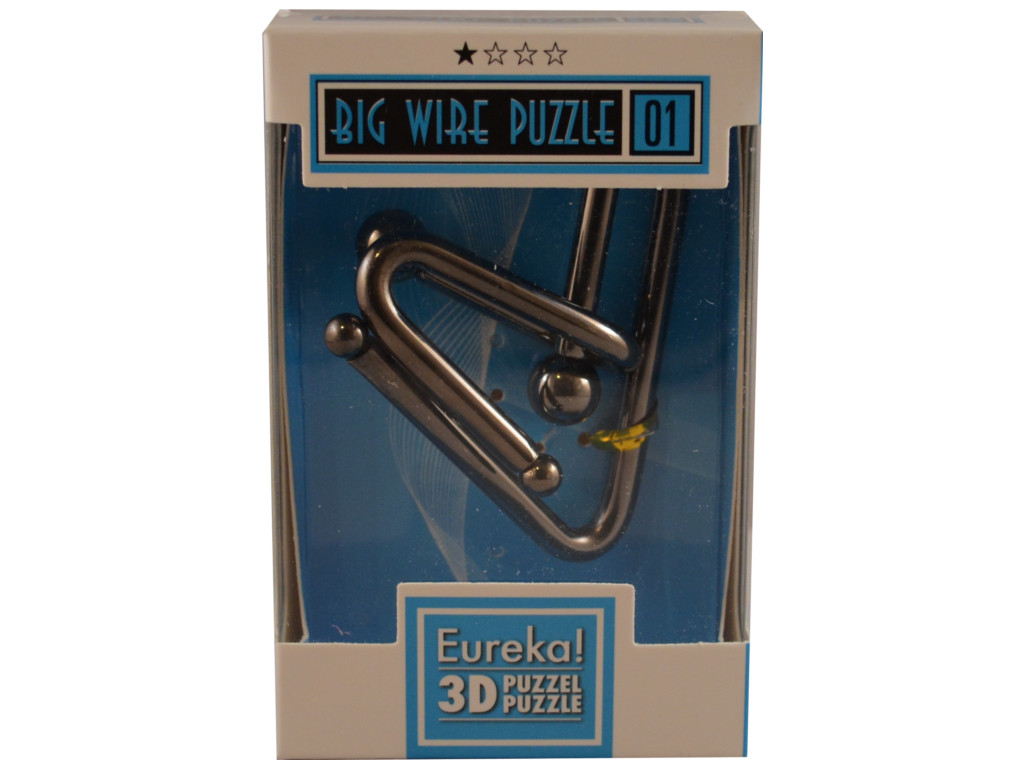 Metallpuzzle Big Wire Puzzle 01