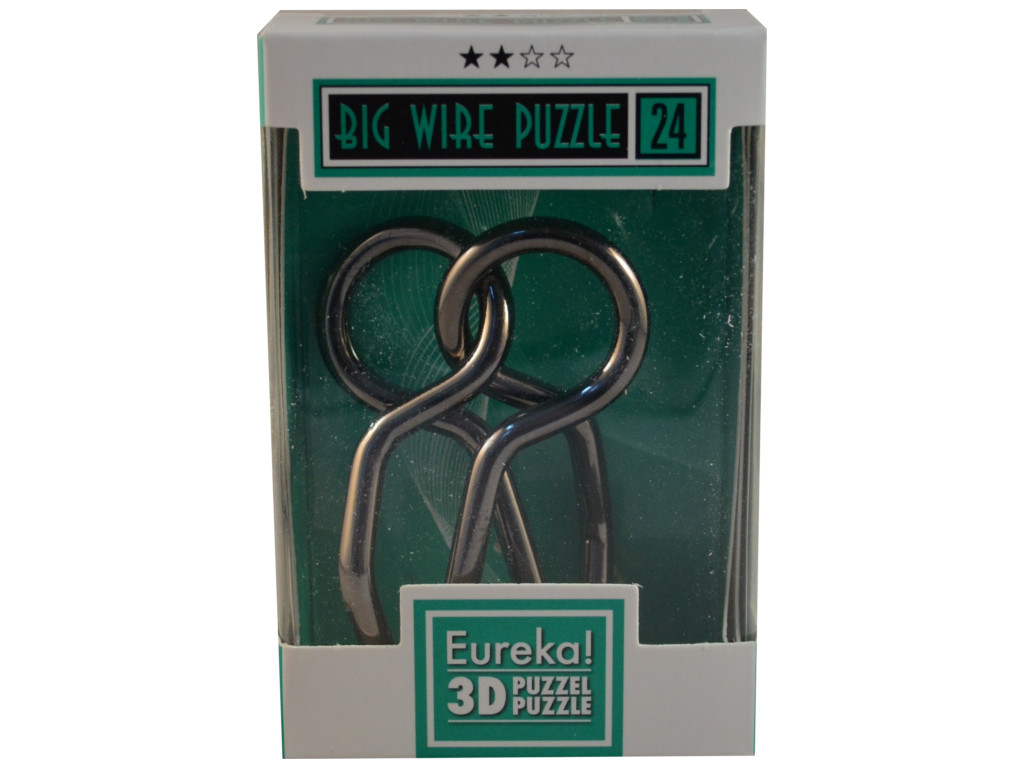 Metallpuzzle Big Wire Puzzle 24
