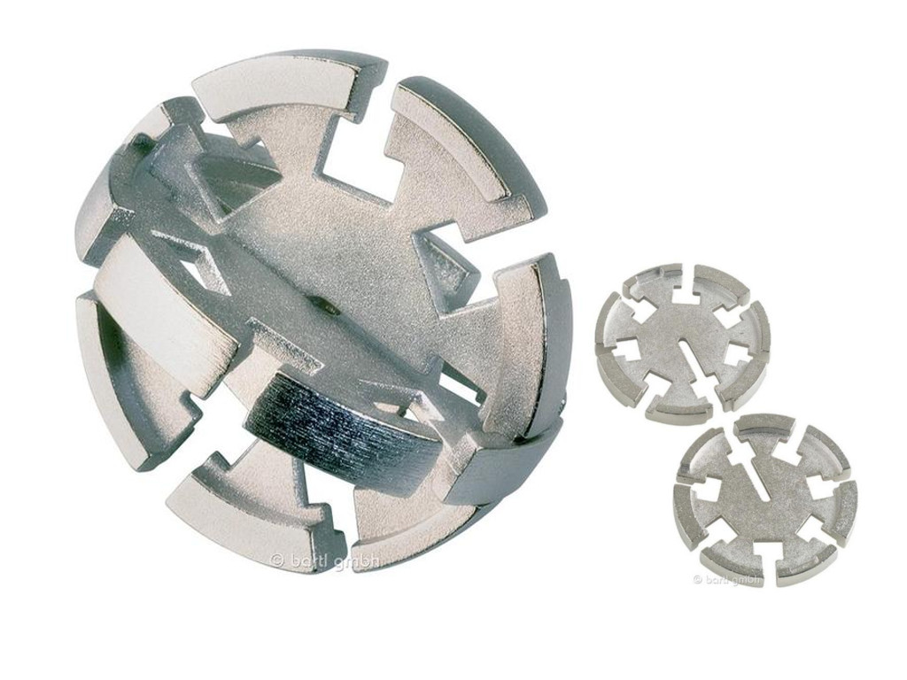 Metall Cast Puzzle Disk