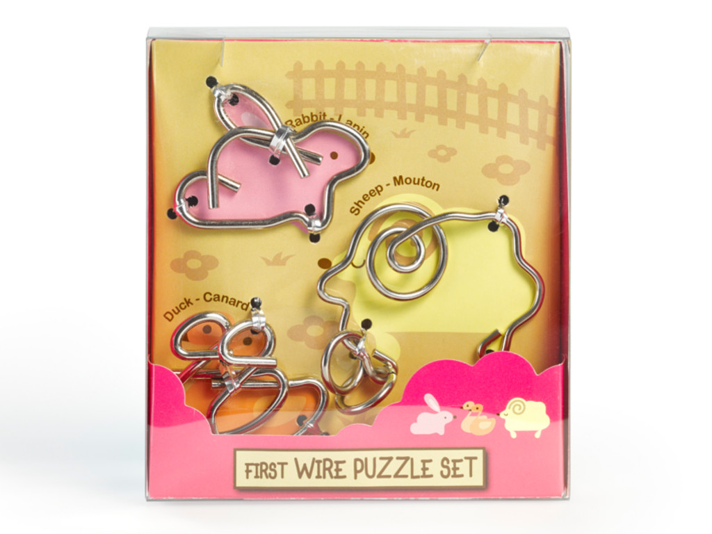 Metall Drahtpuzzle First Wire Puzzle Animal 01