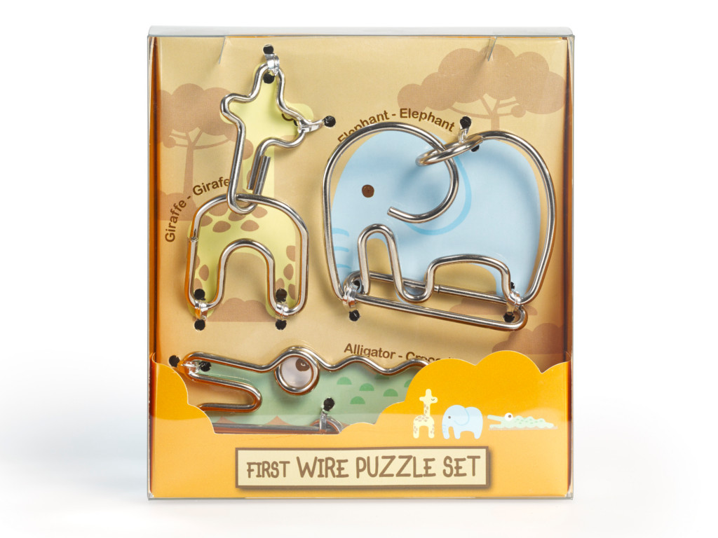 Metall Drahtpuzzle First Wire Puzzle Animal 02