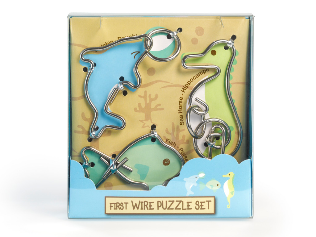 Metall Drahtpuzzle First Wire Puzzle Apuatic
