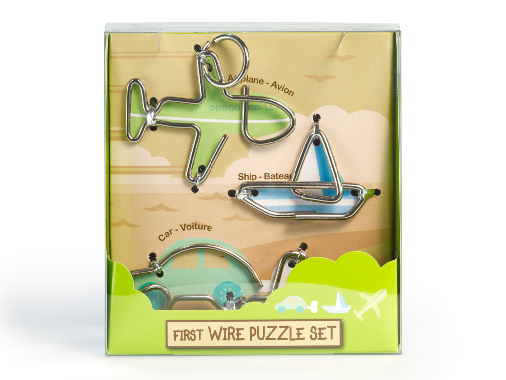 Metall Drahtpuzzle First Wire Puzzle Transport