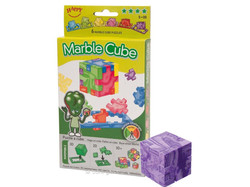 Happy Cube Marble Cube