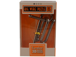 Metallpuzzle Big Wire Puzzle 05