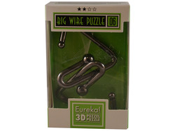 Metallpuzzle Big Wire Puzzle 06