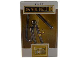 Metallpuzzle Big Wire Puzzle 13