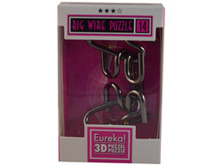 Metallpuzzle Big Wire Puzzle 14