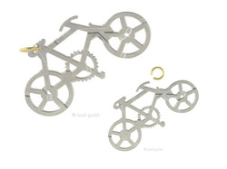 Metallpuzzle Cast Puzzle Bike