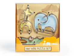 Metallpuzzle Drahtpuzzle First Wire Puzzle Animal 02