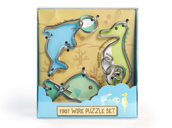 Metallpuzzle Drahtpuzzle First Wire Puzzle Aquatic